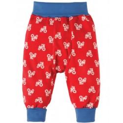 Pants - Frugi Parsnip Pants, Chug Chug - 6-12, 12-18, 18-24, 3-4y  - sale